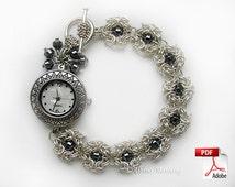 Flower Bracelet  Chainmaille Tutorial