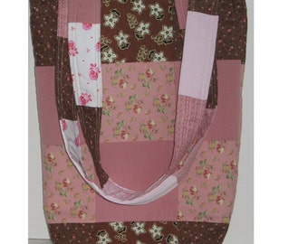 Miss Alyce's Patchwork Knitting  Tote
