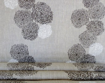 Tigre desing- Hand printed linen by the yard - Free Shipping to USA