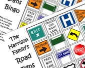 Print Travel Game. Kids Personalized Car Bingo. All Types of signs. Download  PDF. Print