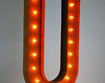 "SALE - Circus Light U - 36"" Vintage Marquee Lights-The Original!"