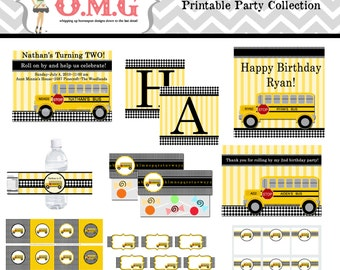 School Bus Party Collection Package  by Oh My Gluestick