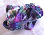"Hand-dyed Ladies Soft Cotton Jersey 36"" Circle Scarf"