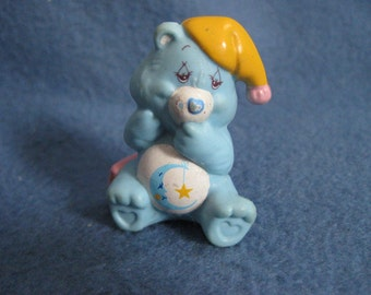 Vintage, 1980s, Care Bear, Bedtime Bear, Figure