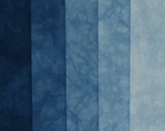 Hand Dyed Fabric Shades - Indra