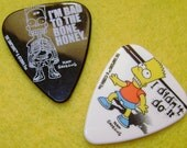 Bart Simpson Guitar Picks