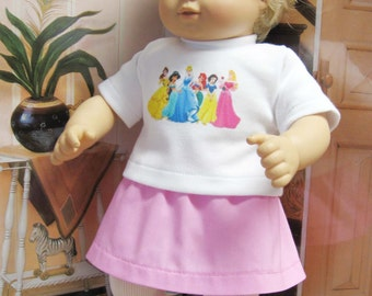 The Princesses Outfit for Bitty Baby