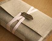 The Bronze Feather Linen Journal