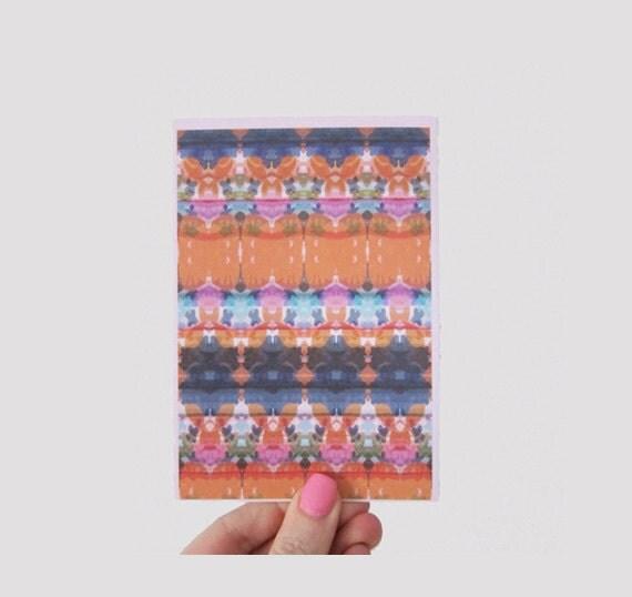 Spring IKAT Print Greeting Card
