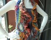 Funky Floral Vest