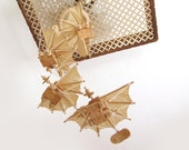 Airplane Mobile with 5 Handmade Planes - reserved for Mercedes
