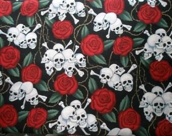 Skulls and Roses  Bandana