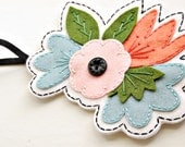 50% OFF Embroidered Floral Hair Band