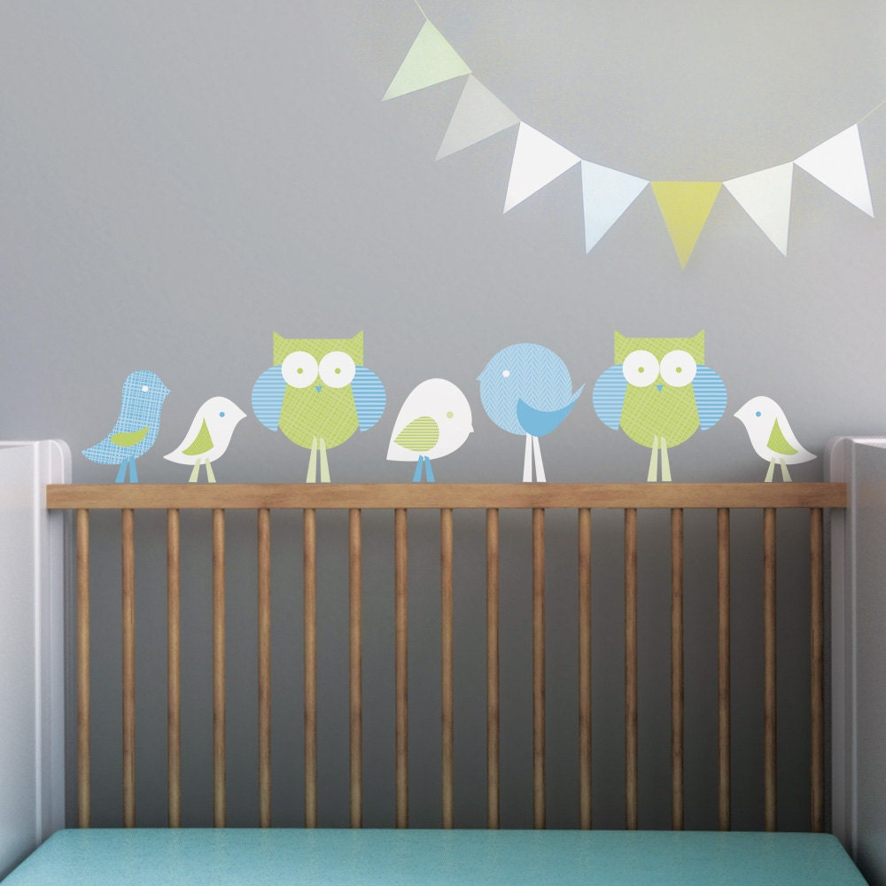 Kids Wall Decal And Baby Nursery Wall Decal In Custom Colors