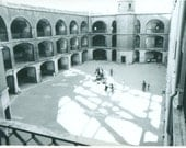 Historic Mission Fort Cannon Sunlight San Francisco CA 60s 1960s California Vintage Black And White Photo Photograph