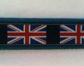 Union Jack Key wristlet