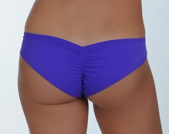 Purple Scrunched Bottom- ONE SIZE Fits Most