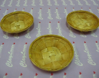 Miniature Bamboo Fruit Tray (2020312)
