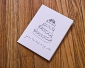 Printable Greeting Card - You're The Icing On My Cake