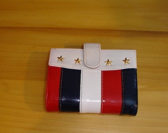 Baronet Stars and Stripes Red White and Blue Wallet