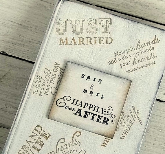 Wedding Photo Book Quotes: Vintage Book Wedding Invitation Collage Of Quotes RESERVED