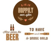 Bachelorette Beer Tasting Party Printables