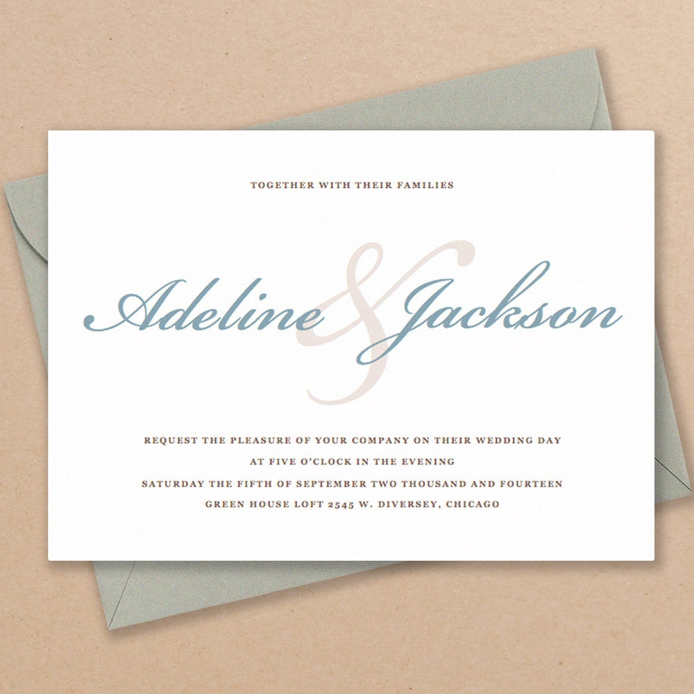 Free Wedding Invitation Printables: Printable Wedding Invitation Template INSTANT DOWNLOAD