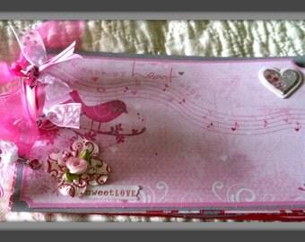 Premade Scrapbook/Album Sweet Love Wedding, Engagement