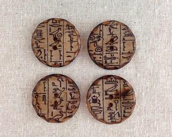 Hieroglyph buttons