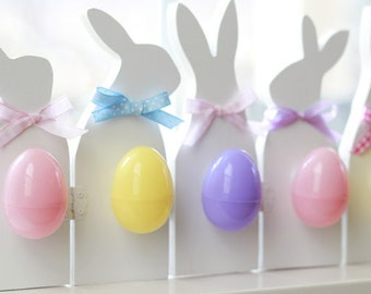 EASTER BUNNY Wood Silhouettes