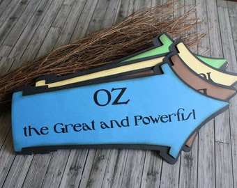 OZ the Great and Powerful...Movie Inspired Whimsical Party Signs
