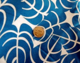 1 Yard Tropical Blue Fabric Textiles designed by  Beth Ann Bruske