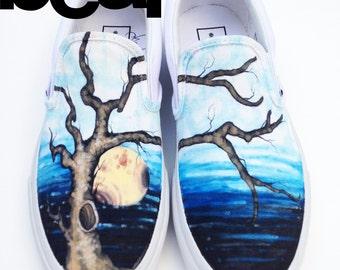 Custom Vans-- Oak Tree