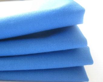 Cloth Napkins - Blue - 100% Cotton