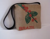 Recycled Coffee Burlap Tote - Brazil