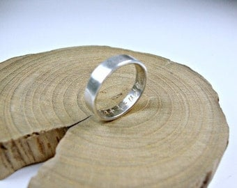 Gift of Gratitude Sterling Silver Ring Band