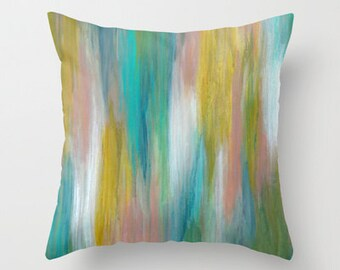 Desert Wash Art Pillow Cover 16x16, 18x18 or 20x20