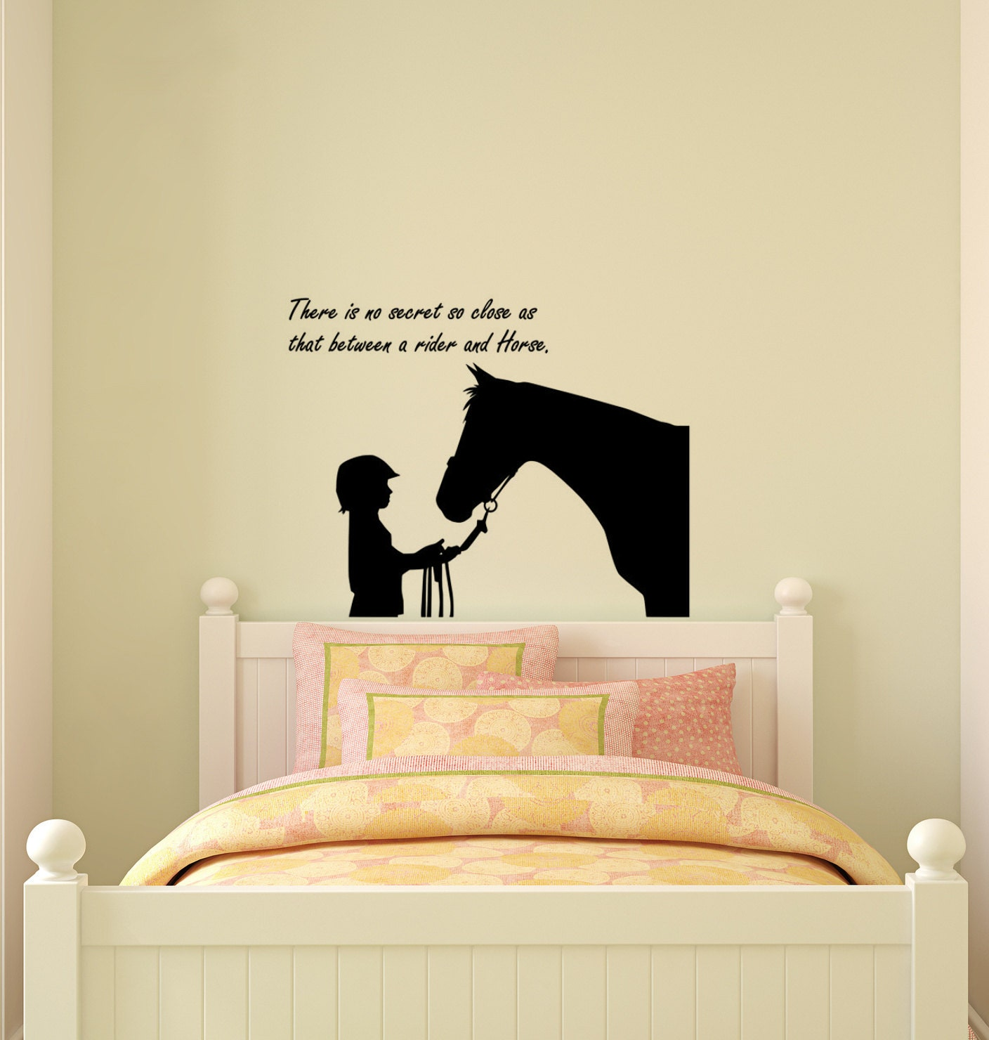 Wall Decals Quotes: Horse Decal-Horse Sticker-Quote Decal-Horse Wall Decor-Quote