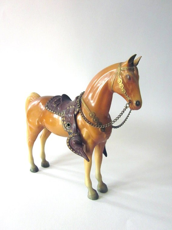 Best Breyer Horses And Horse Toys : Vintage breyer toy horse with saddle