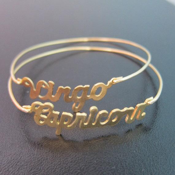 Zodiac Sign Bracelet Zodiac Jewelry Zodiac Charm Bracelet