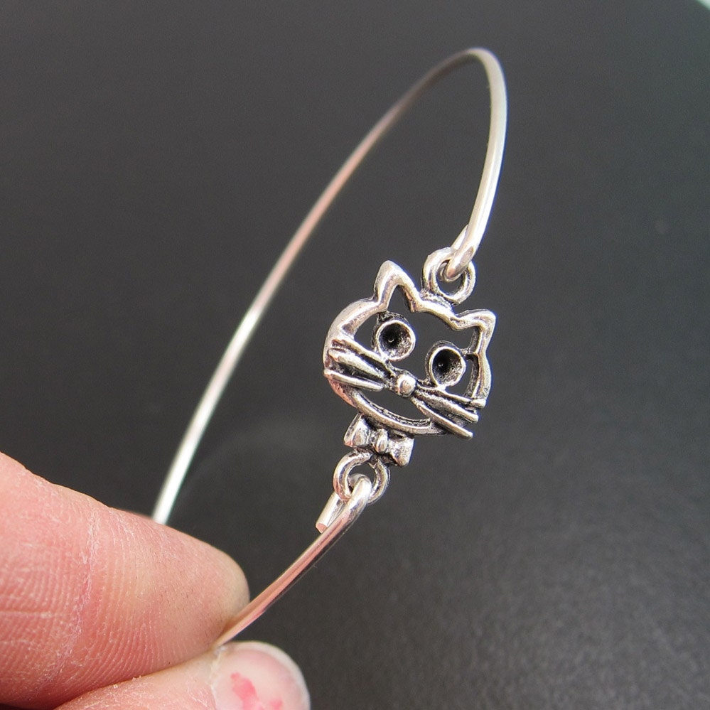 cat jewelry cheshire cat bracelet cheshire cat jewelry cat bangle 7755