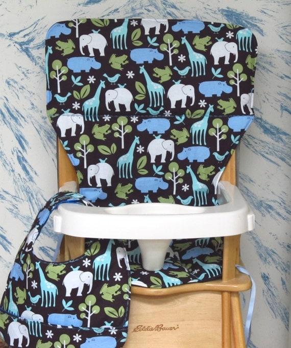 Eddie Bauer Jenny Lind Replacement High Chair Cover By