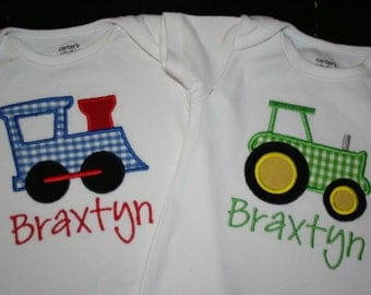 Train or Tractor Bodysuit