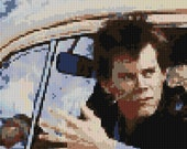 Footloose counted Cross Stitch 3 Pattern pack Kevin Bacon detailed portraits and Prom