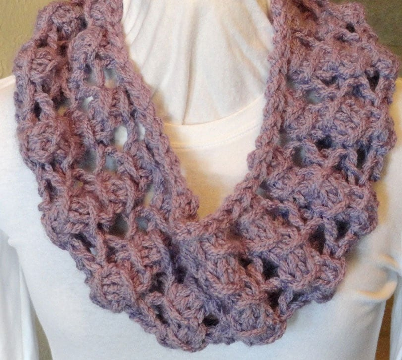 Diamond Lace Knitting Pattern : Knitting Pattern Diamond Lace Stitch Knitted by KimberleesKorner