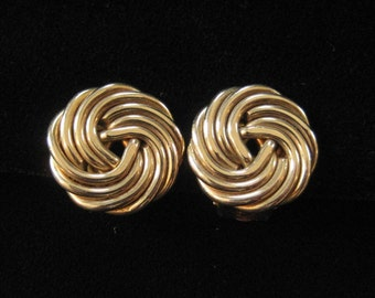 Binder Brothers Gold Filled Wire Knot Earrings