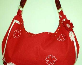Hand Crafted By Maggie HoBo Purse crossbody strap-Sale.