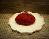 Garnet coin purse