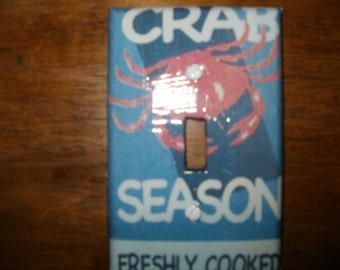 Crab Season Switchplate Cover