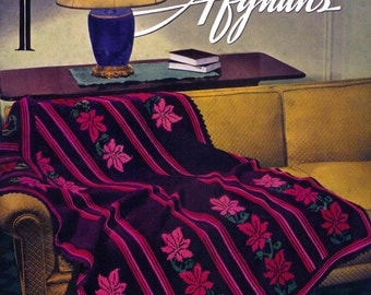 Fleisher's (46) c.1937 -  Vintage Patterns to Make Colorful Afghans in Crochet